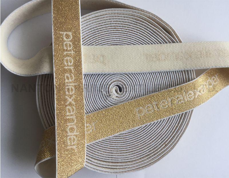 Gold color elastic --Manufacturer