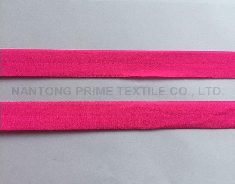 bright color folded elastic