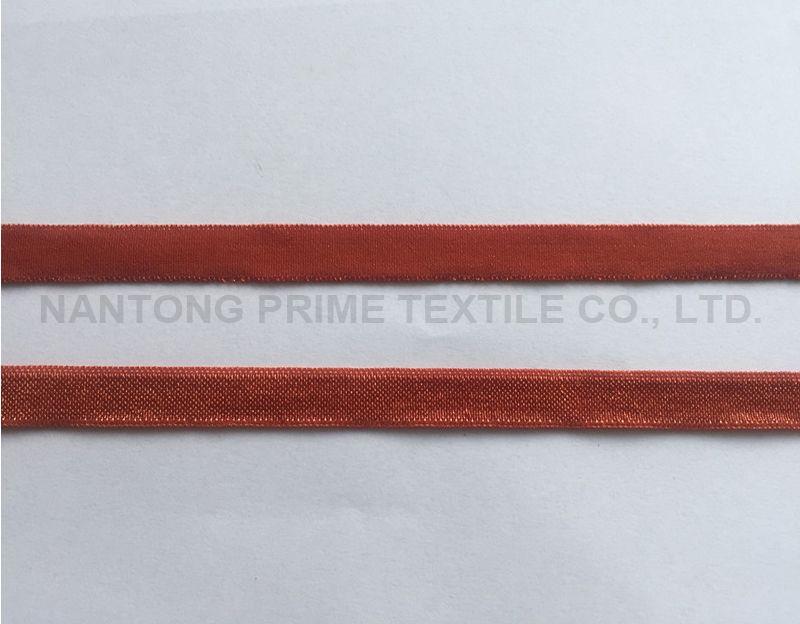 shiny folding elastic
