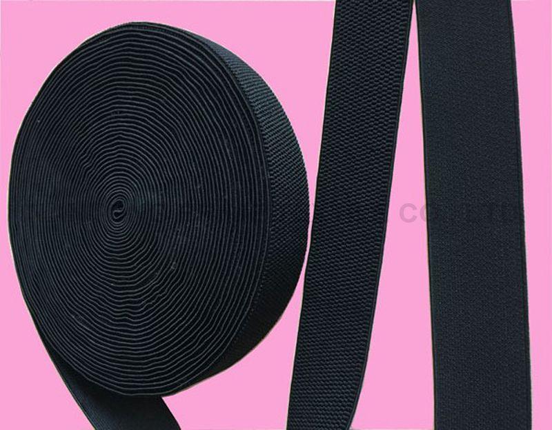 Black Elastic belts-- Factory