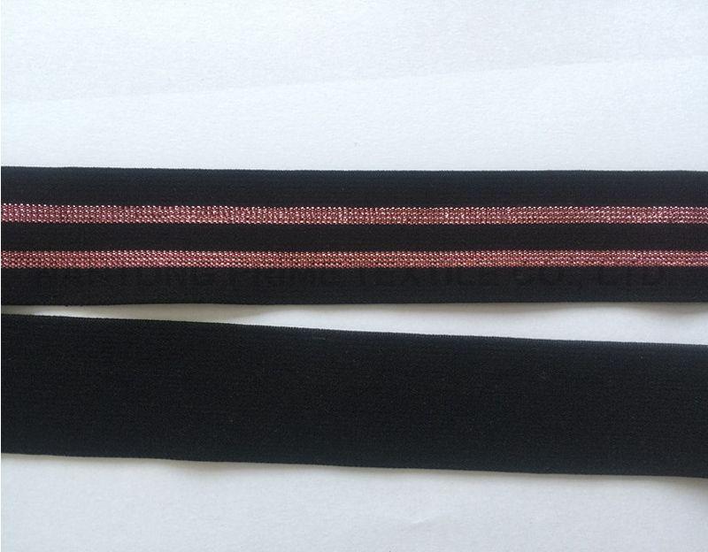 Black metal elastic --Manufacturer
