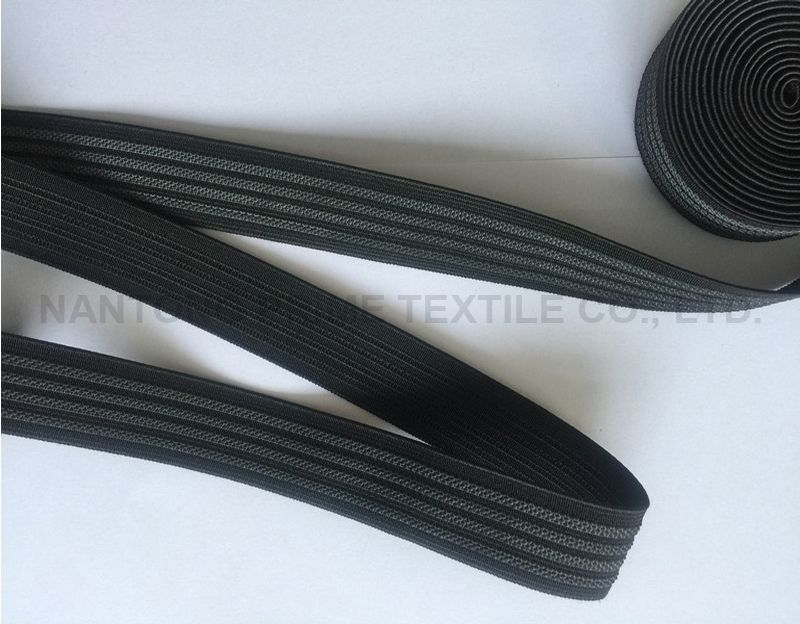 Black polyester webbing -- Manufacturer