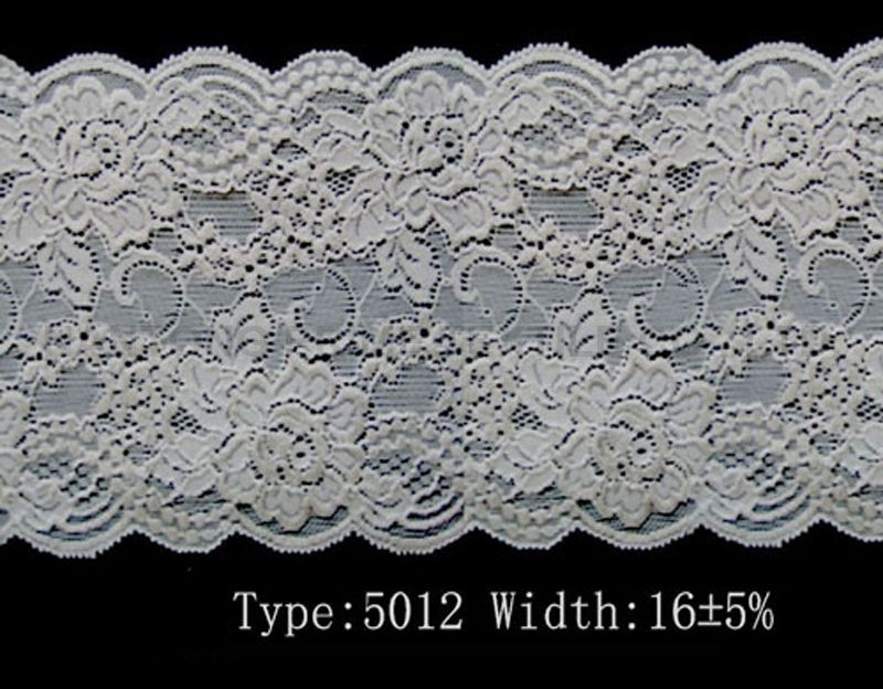 Snow White Stretch Lace