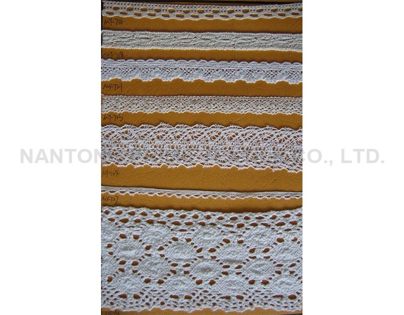white cotton lace